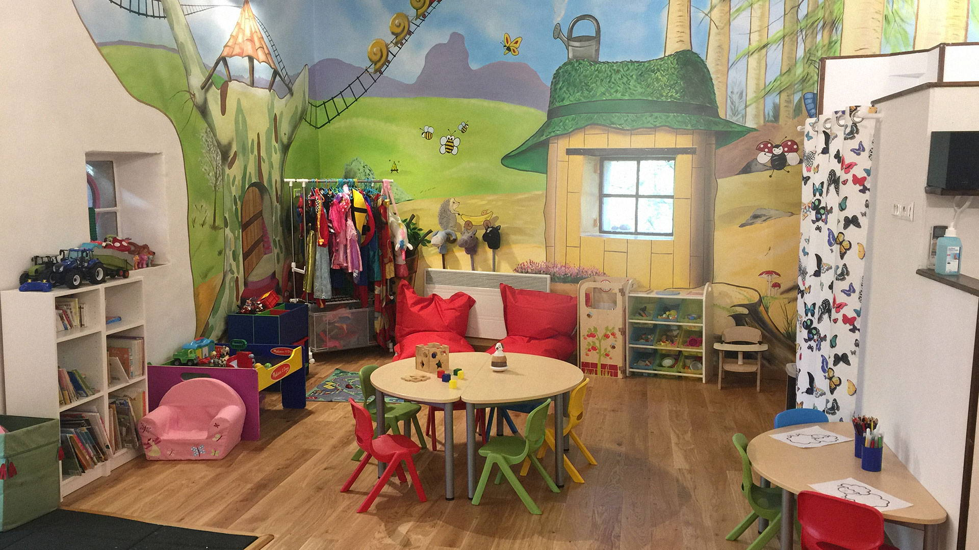 Kids club family friendly boltholes France